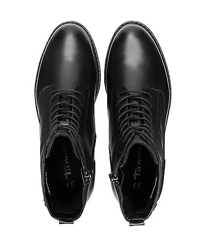 Tamaris Online kaufen Leder schwarz Sportliche