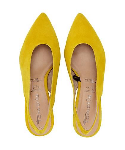 Tamaris Sling Pumps in gelb kaufen | GÖRTZ