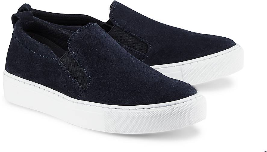 tamaris slip on sneaker low blau dunkel g rtz. Black Bedroom Furniture Sets. Home Design Ideas