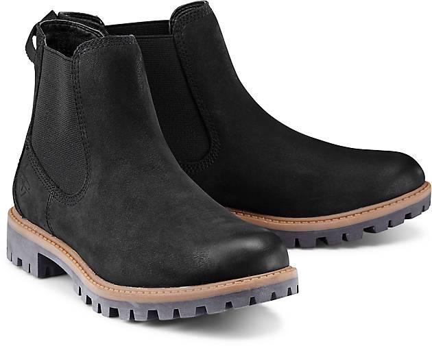 tamaris damen chelsea boots schwarz schuhgr e eur 40. Black Bedroom Furniture Sets. Home Design Ideas