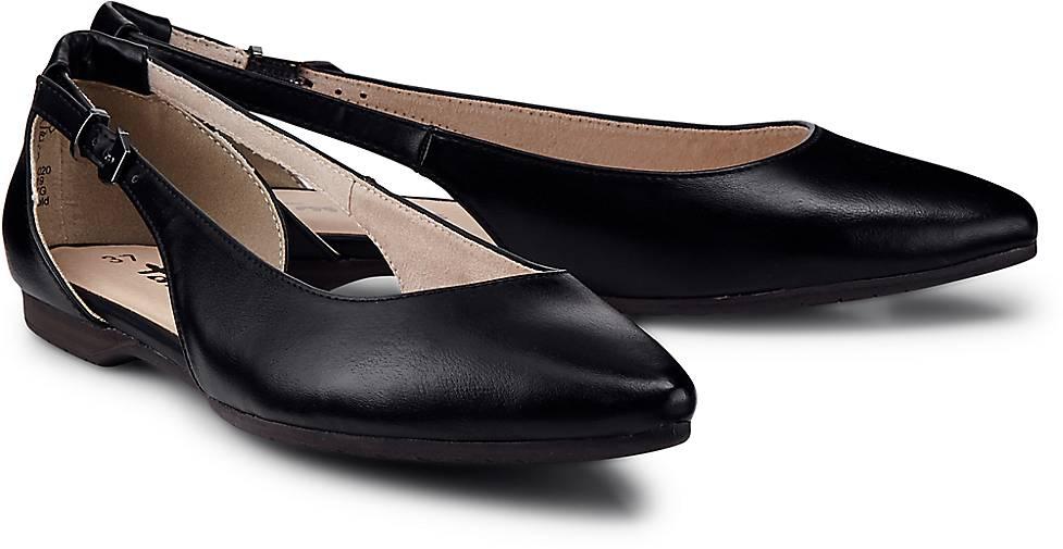 tamaris trend ballerina in schwarz kaufen 47360201 g rtz. Black Bedroom Furniture Sets. Home Design Ideas