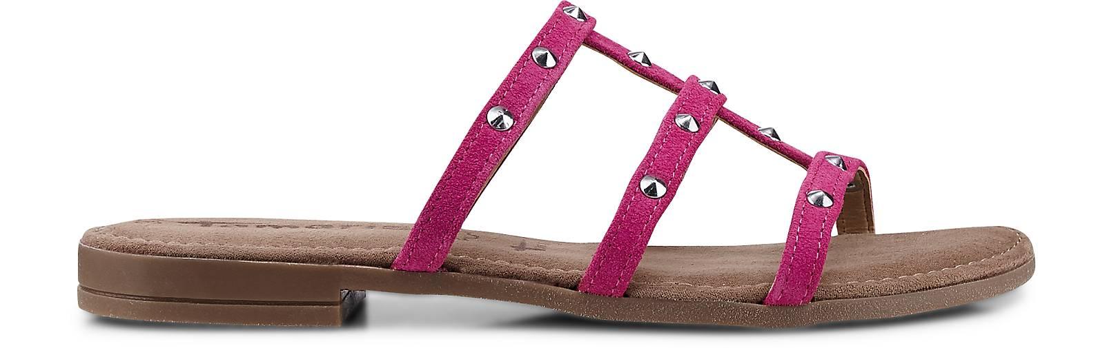 Tamaris kaufen Trend-Pantolette in pink kaufen Tamaris - 47863601 | GÖRTZ 6dc75b