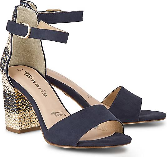 blaue Sandaletten Tamaris NEU Gr. 39