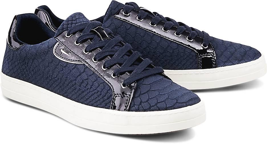tamaris trend sneaker sportliche schn rer blau. Black Bedroom Furniture Sets. Home Design Ideas