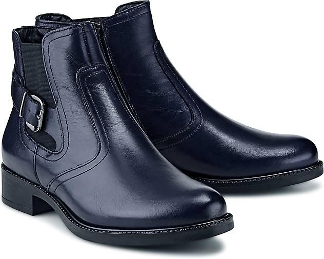 tamaris trend stiefelette chelsea boots blau dunkel g rtz. Black Bedroom Furniture Sets. Home Design Ideas