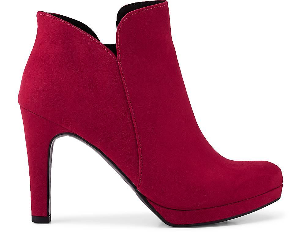 Tamaris Trend-stiefelette In Rot Kaufen Klassische Stiefeletten Ankle Boots