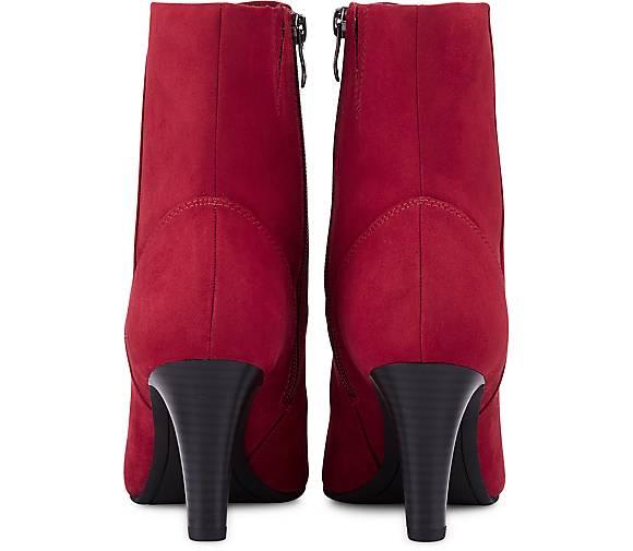 tamaris trend stiefelette in rot kaufen 47607201 g rtz. Black Bedroom Furniture Sets. Home Design Ideas