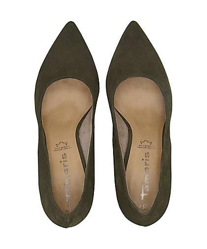 3e1af62af927 ... Tamaris - Velours-Pumps in khaki kaufen - Tamaris 47602702 GÖRTZ Gute  Qualität beliebte Schuhe ...