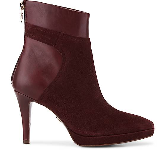 Tamaris Velours-Stiefelette 46899101 in bordeaux kaufen - 46899101 Velours-Stiefelette | GÖRTZ Gute Qualität beliebte Schuhe 3a938b