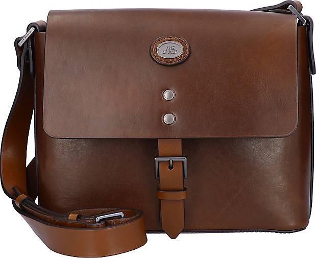The Bridge Lorenzo Messenger Leder 28 cm