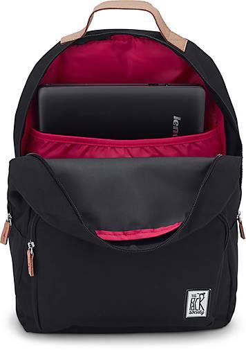 The Pack Society CLASSIC BACKPACK in schwarz kaufen Gute - 45404706 | GÖRTZ Gute kaufen Qualität beliebte Schuhe 91a6ac