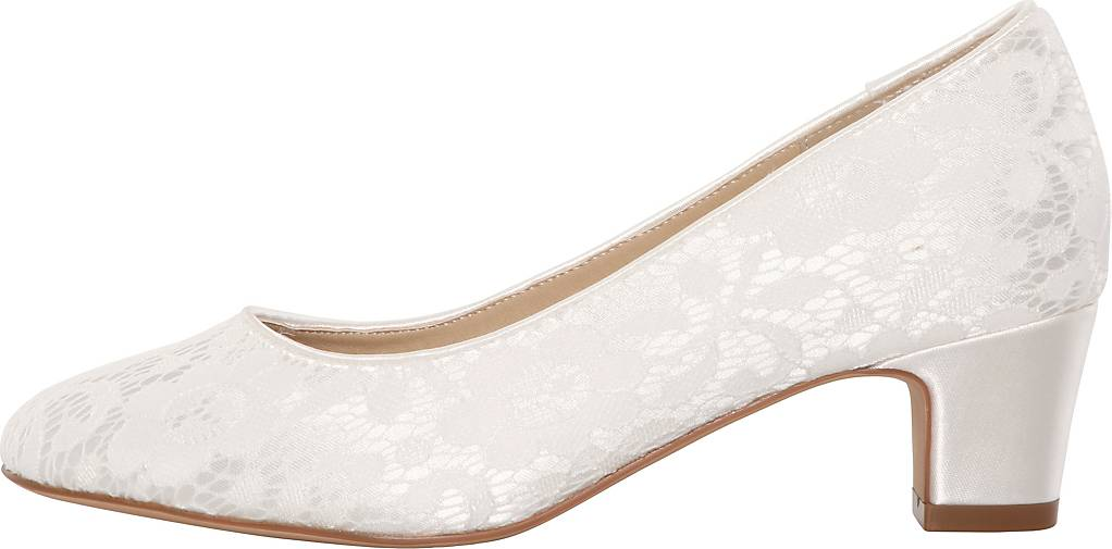 The Perfect Bridal Company Brautschuhe Melanie-spitze-Wide fit