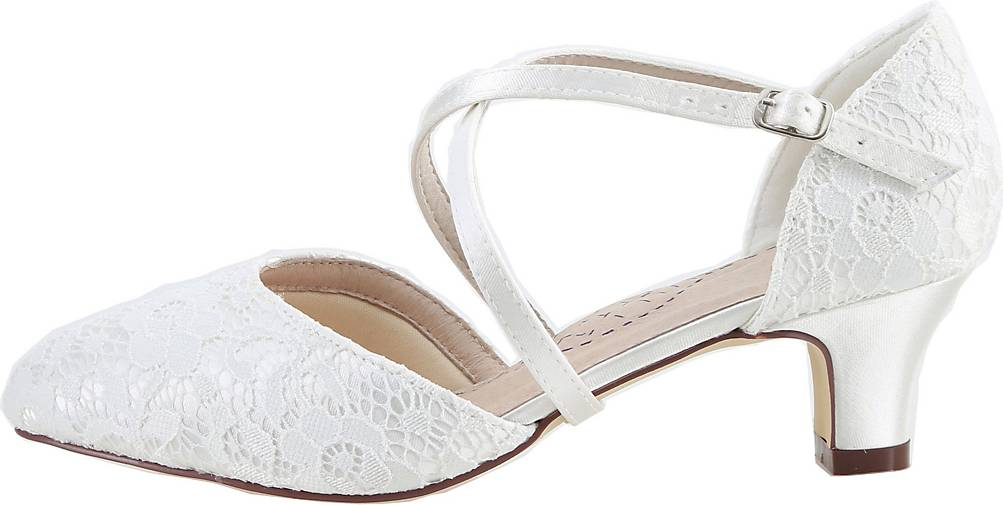 The Perfect Bridal Company Brautschuhe Renate-spitze
