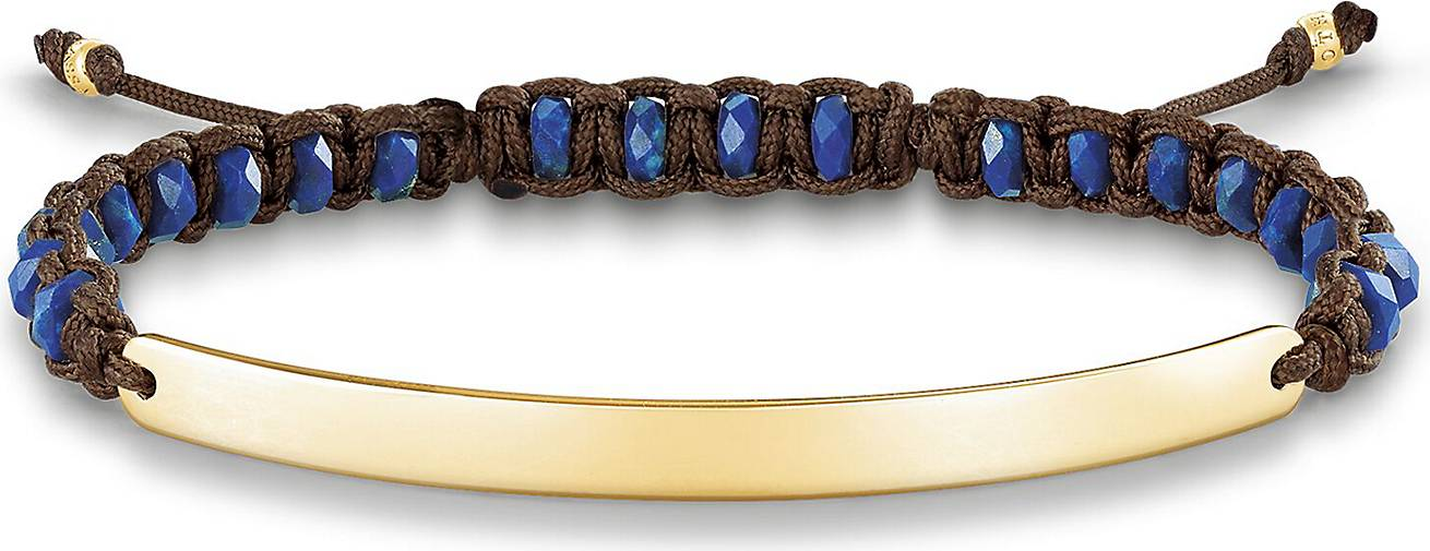"Thomas Sabo Armband ""blau vergoldet LBA0056-892-32-L19v"""
