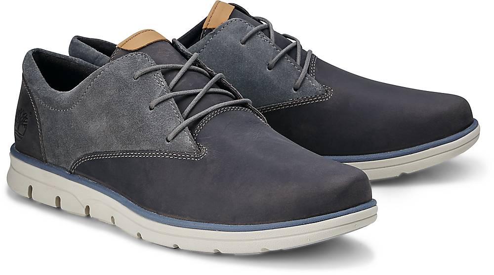 Timberland, Bradstreet Plain Toe in grau, Schnürschuhe für Herren Gr. 41