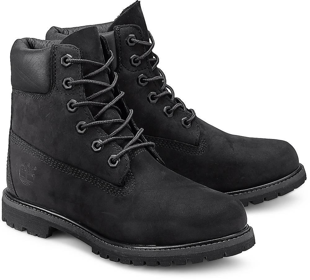 """""""Boots 6"""""""" Premium von Timberland in schwarz für Damen. Gr. 37,37 1/2,38,38 1/2"""""""
