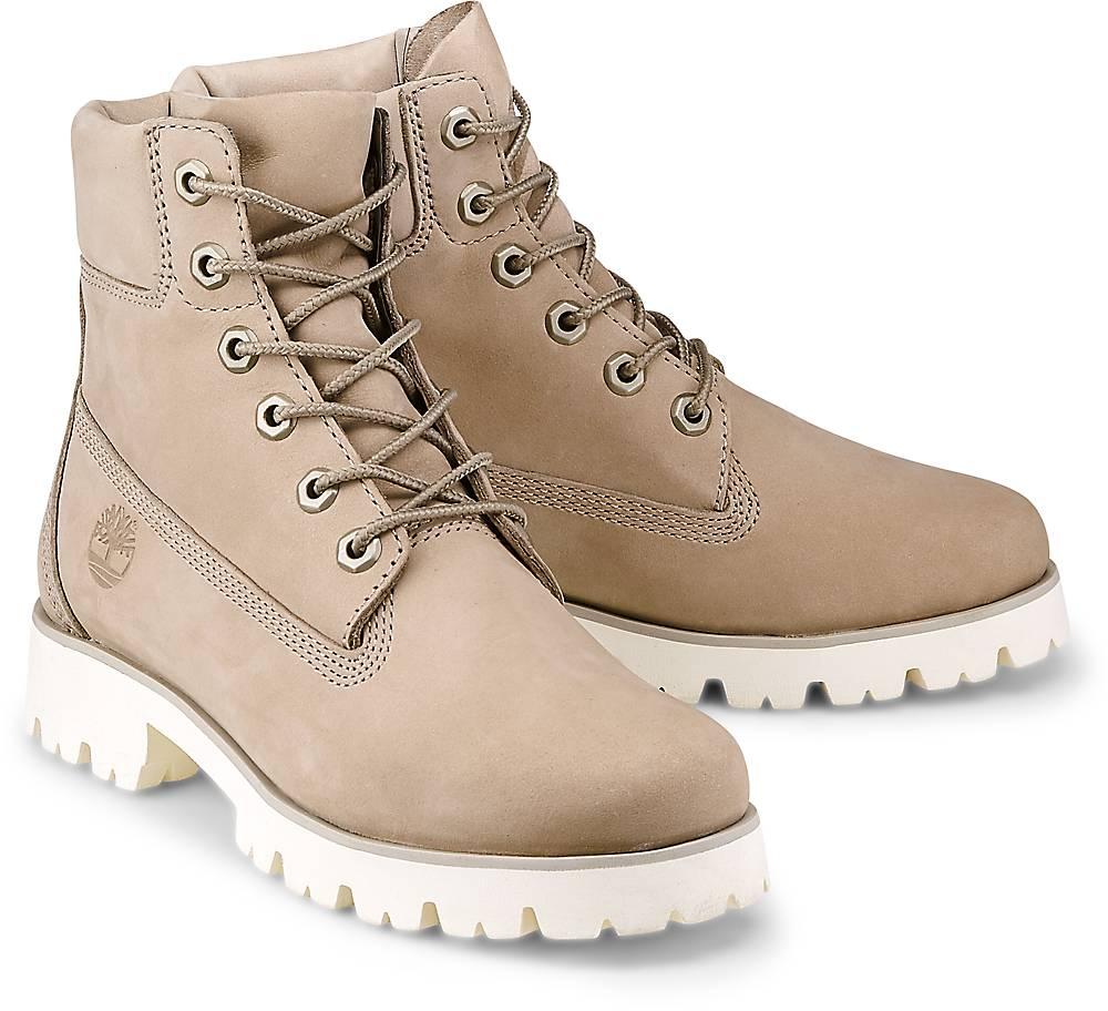 Timberland, Boots Heritage Lite 6 in taupe, Stiefeletten für Damen Gr. 37