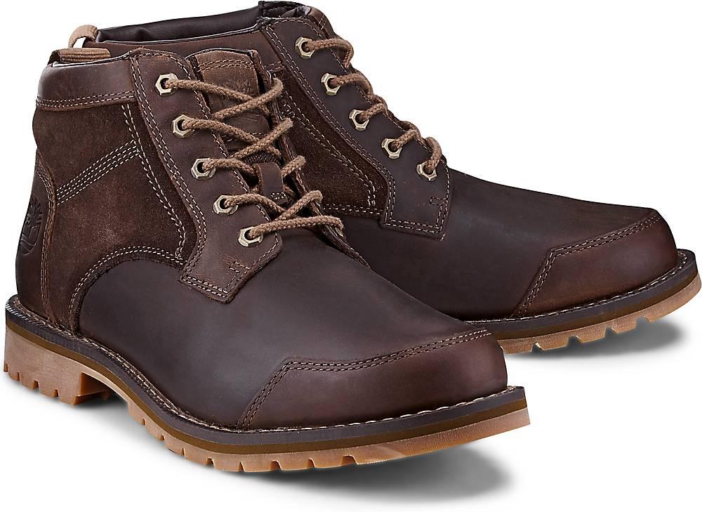 Timberland, Boots Larchmont in braun, Stiefel für Herren Gr. 41