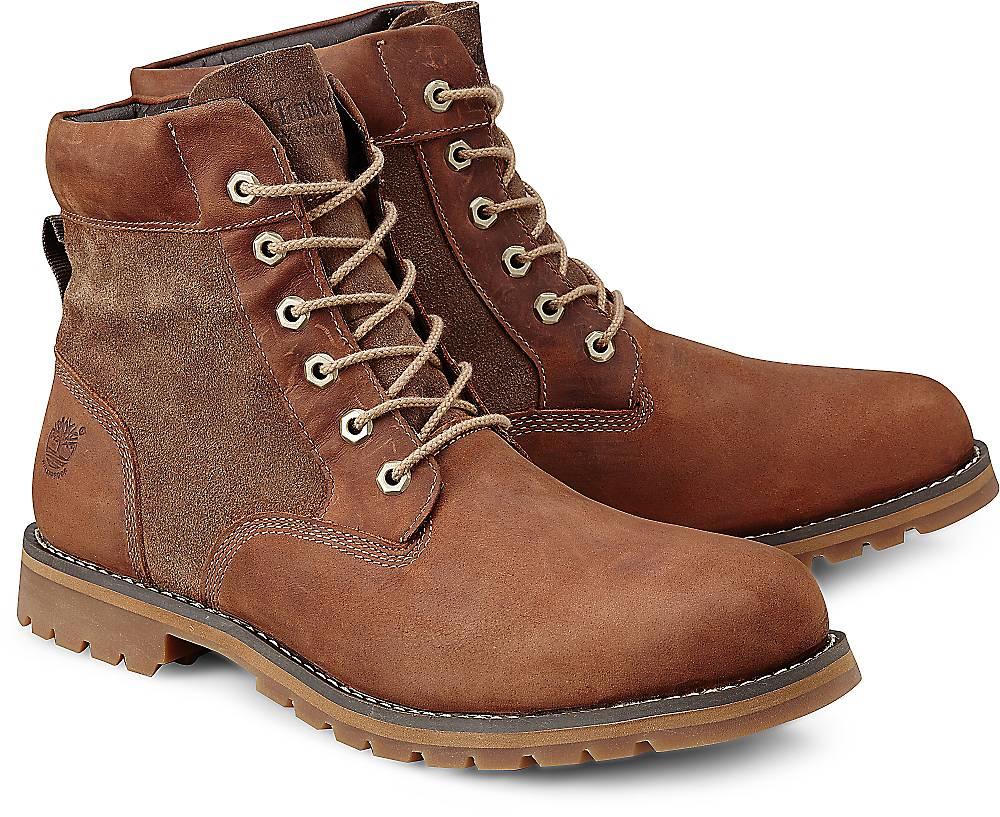 Timberland, Boots Larchmont in braun, Stiefel für Herren Gr. 40
