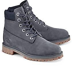 Timberlands Damen Boots Grau