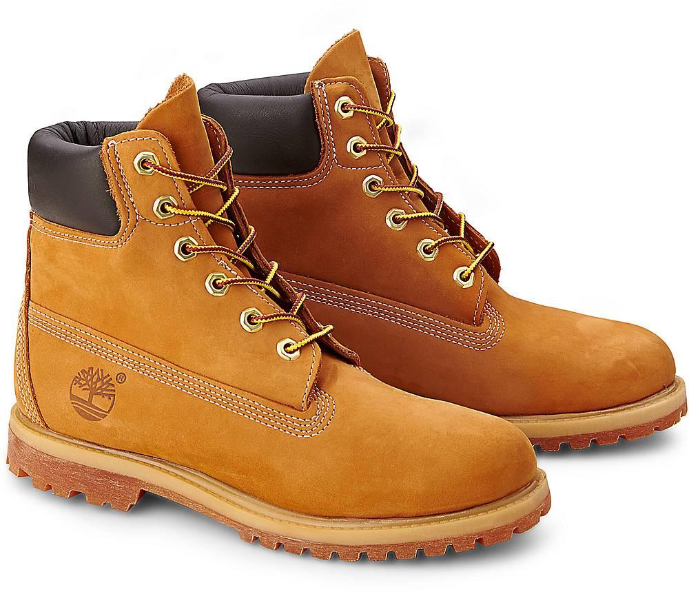 """""""Boots Premium 6"""""""" von Timberland in ocker für Damen. Gr. 36,37,38"""""""