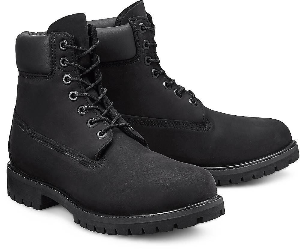 """Timberland, Boots Premium 6"""" in schwarz, Stiefel für Herren Gr. 41"""