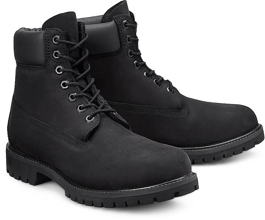 timberland boots premium 6 boots schwarz g rtz. Black Bedroom Furniture Sets. Home Design Ideas