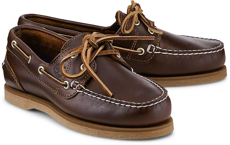 8e6f604ea929e Timberland Bootsschuh CLASSIC in braun-mittel kaufen - 48479001 | GÖRTZ