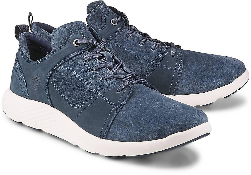 Timberland, Schnürer Flyroam in blau, Sneaker für Herren Gr. 40