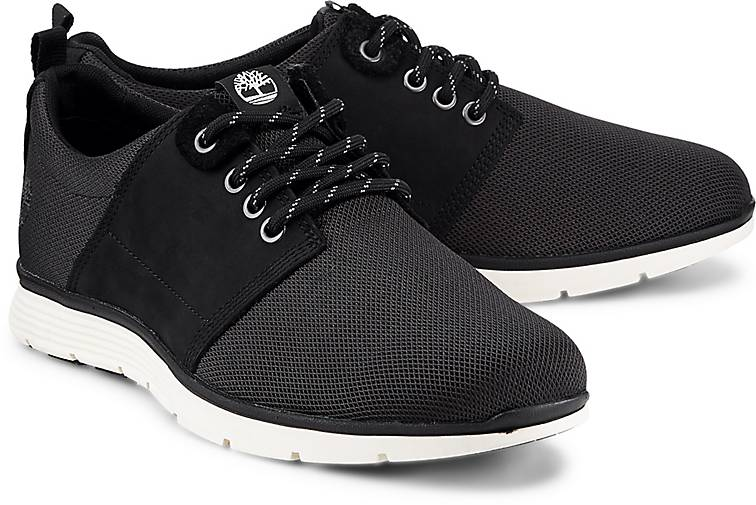 Timberland Black Leather Sneakers Gastronomia Y Viajes