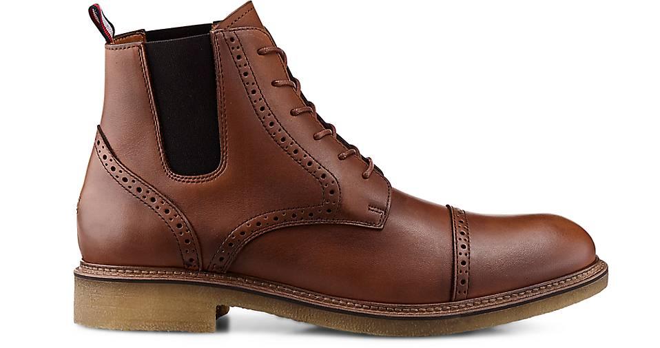 Tommy Hilfiger Boots BARRETT 2A in braun-mittel GÖRTZ kaufen - 46587601 | GÖRTZ braun-mittel Gute Qualität beliebte Schuhe 5c7c09
