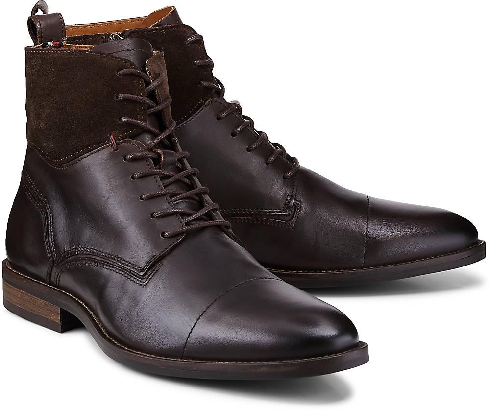Boots Essential von Tommy Hilfiger in braun für Herren. Gr. 41,42,43,44,45,46 Preisvergleich