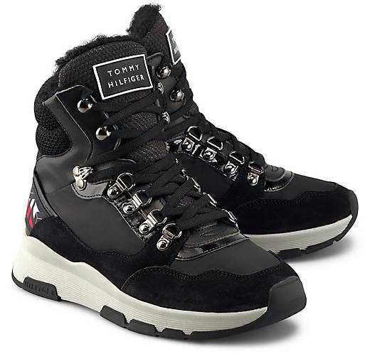 Tommy Hilfiger Boots PATENT FASHION SPORTY