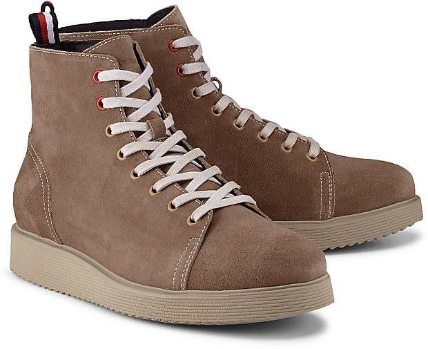 Tommy Hilfiger Boots SUEDE WEDGE