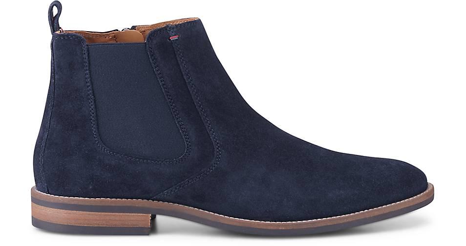 Tommy GÖRTZ Hilfiger Chelsea-Boots in blau-dunkel kaufen - 46586203   GÖRTZ Tommy Gute Qualität beliebte Schuhe f8d69c