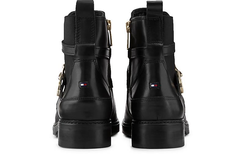 TOMMY HILFIGER Stiefel schwarz Klassische Stiefeletten