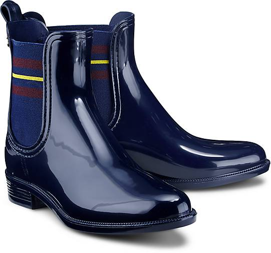 tommy hilfiger gummi boots odette 7r gummistiefel. Black Bedroom Furniture Sets. Home Design Ideas
