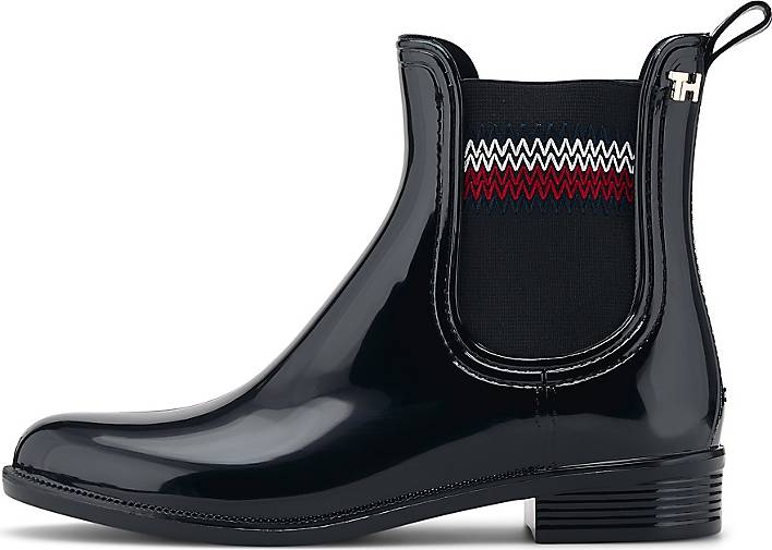Tommy Hilfiger Gummi-Chelsea CORPORATE ELASTIC RAINBOOT