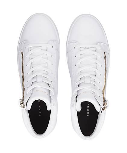 Tommy Hilfiger Hi-Top-Sneaker in weiß kaufen - 47581501 beliebte | GÖRTZ Gute Qualität beliebte 47581501 Schuhe 54eca2