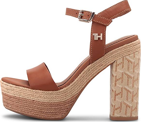 Tommy Hilfiger High-Heel Sandalette TH RAFFIA