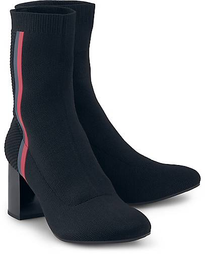 Tommy Hilfiger KNITTED HEELED BOOT