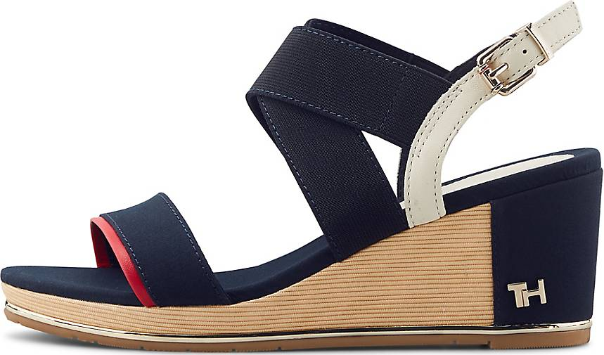 Tommy Hilfiger Keil-Sandalette TH BASIC