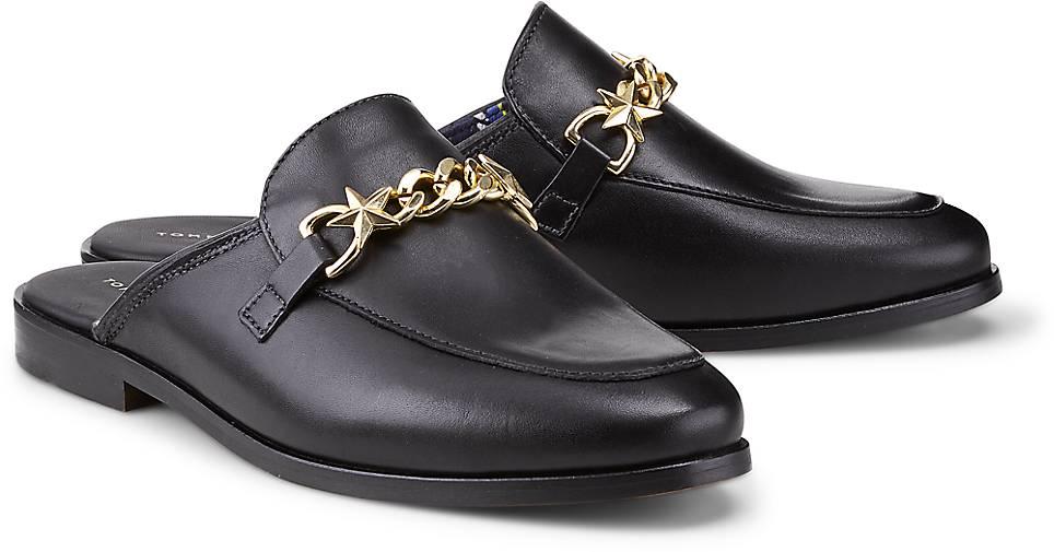 Tommy Hilfiger Klassik-Pantolette in schwarz kaufen - 47065001 Gute   GÖRTZ  Gute 47065001 Qualität beliebte Schuhe 698e32 905871ce10