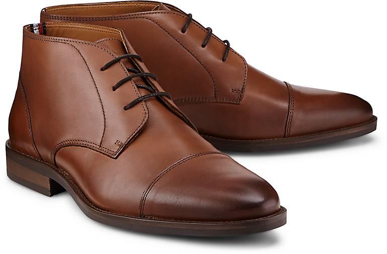 Tommy Hilfiger Leder-Boots TOECAP