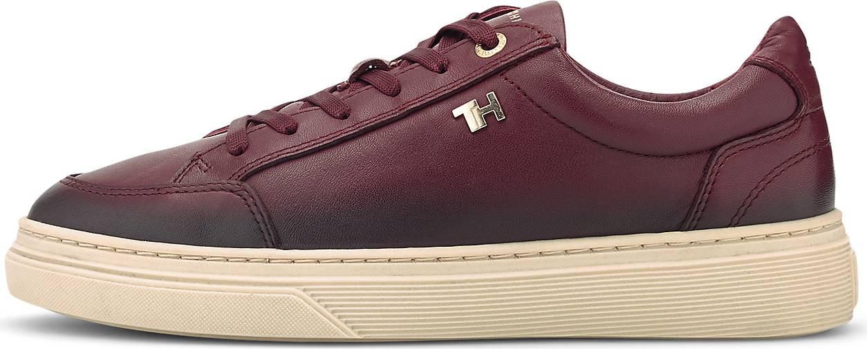Tommy Hilfiger Leder-Sneaker ELEVATED TH