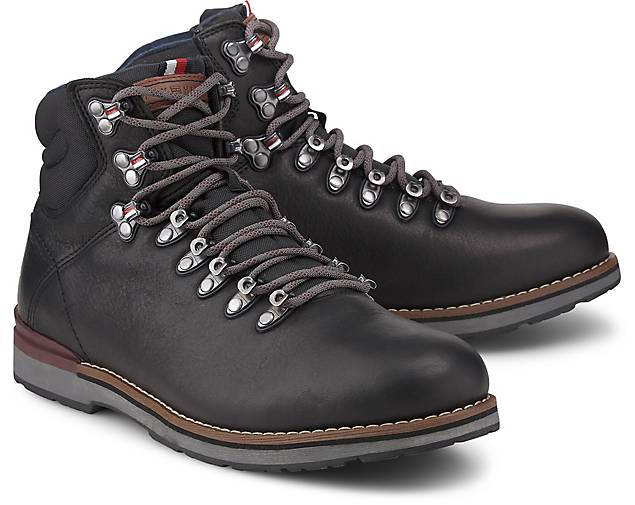 Tommy Hilfiger OUTDOOR HIKING LACE LEATHER BOOT