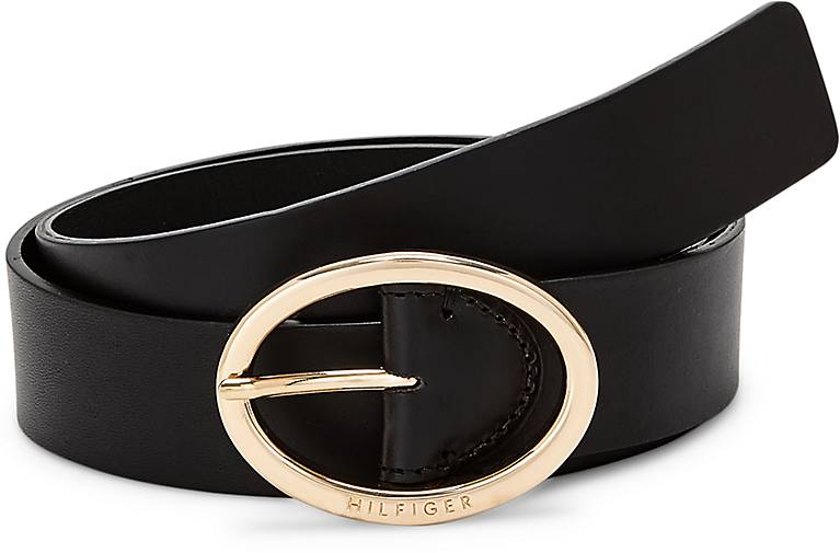Tommy Hilfiger OVAL BUCKLE BELT