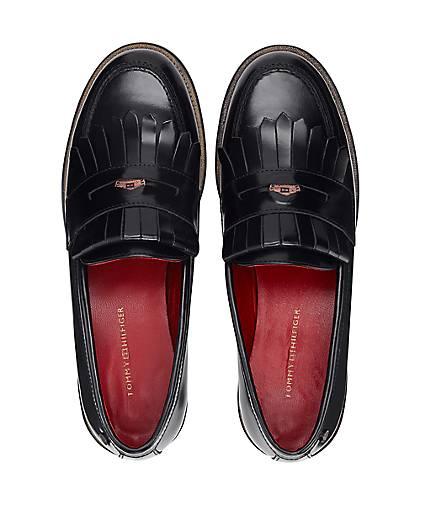 Tommy kaufen Hilfiger Penny-Loafer in schwarz kaufen Tommy - 47611701 | GÖRTZ 5b0521