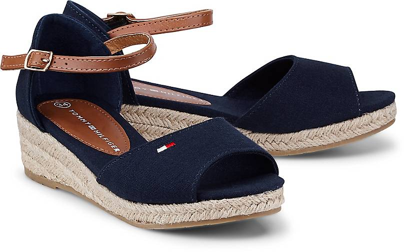 Tommy Hilfiger ROPE WEDGE SANDAL