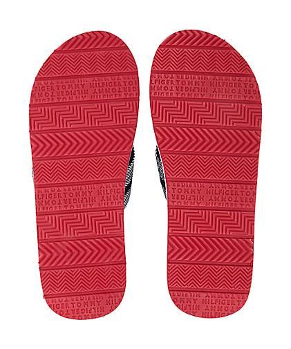 Tommy Hilfiger Sandale STRIPES PRINT in blau-dunkel kaufen ... d37fe430df7